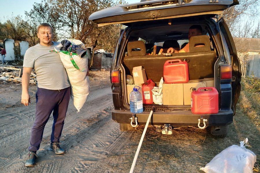 3 3 - <b>«Кому теперь нужна эта пустыня Сахара?»</b> В Луганской области горят леса и села, а волонтеры — тушат - Заборона