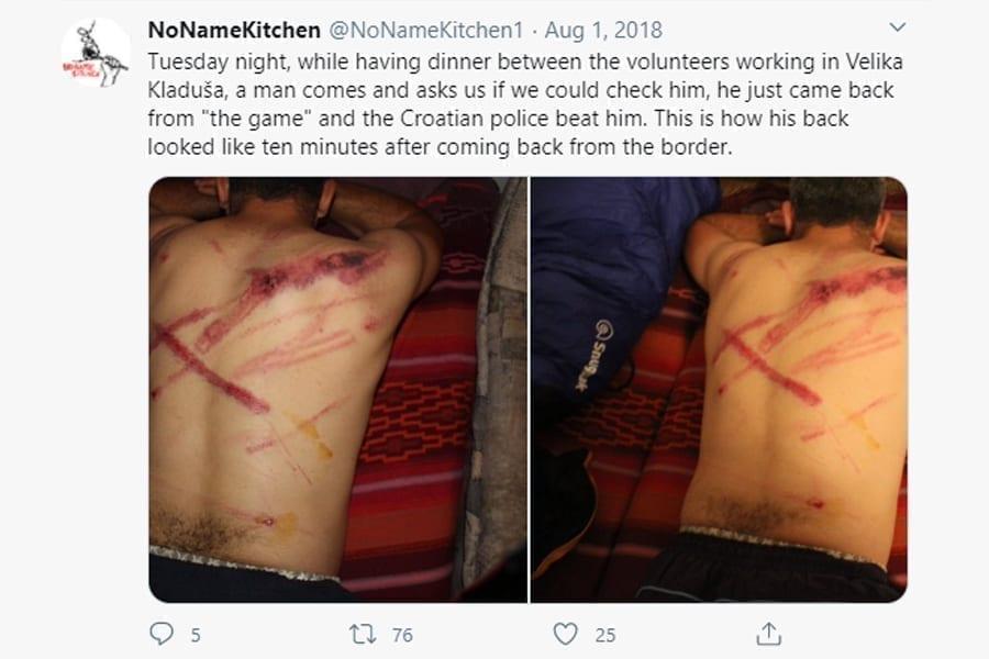 6 13 - <b>Хорватська поліція регулярно била та ґвалтувала біженців.</b> Влада все заперечує - Заборона