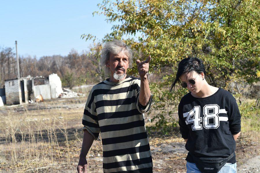 dsc 2024 - <b>«Кому теперь нужна эта пустыня Сахара?»</b> В Луганской области горят леса и села, а волонтеры — тушат - Заборона