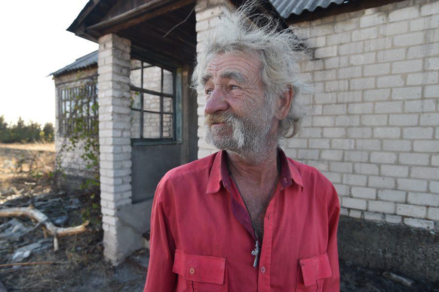 dsc 2203 - <b>«Кому теперь нужна эта пустыня Сахара?»</b> В Луганской области горят леса и села, а волонтеры — тушат - Заборона