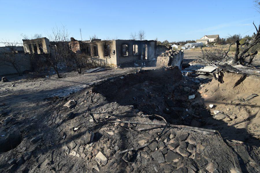 dsc 2254 - <b>«Кому теперь нужна эта пустыня Сахара?»</b> В Луганской области горят леса и села, а волонтеры — тушат - Заборона
