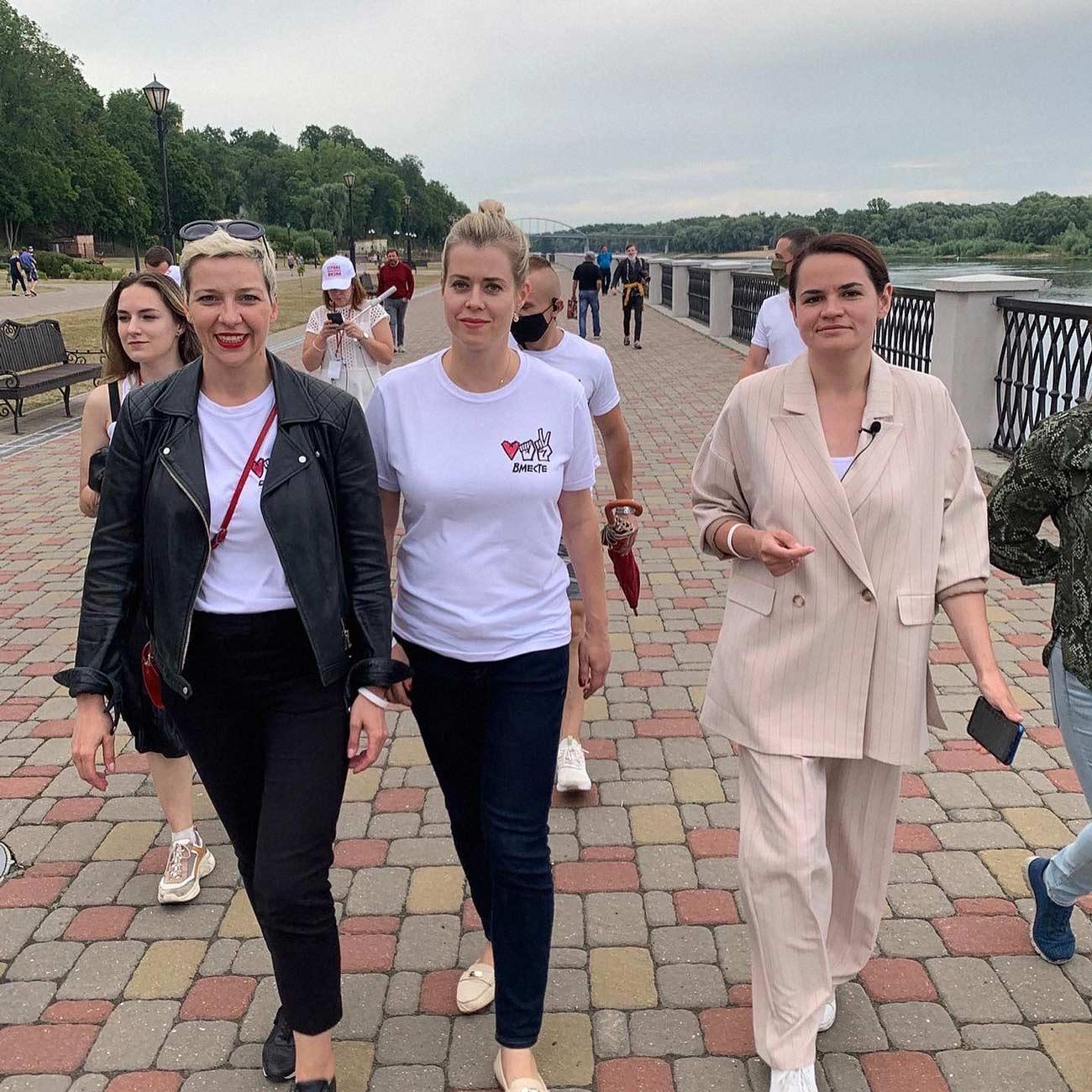 belarussian women 02 - <b>«Нечего было нас злить».</b> Заборона называет главного героя 2020 года - Заборона