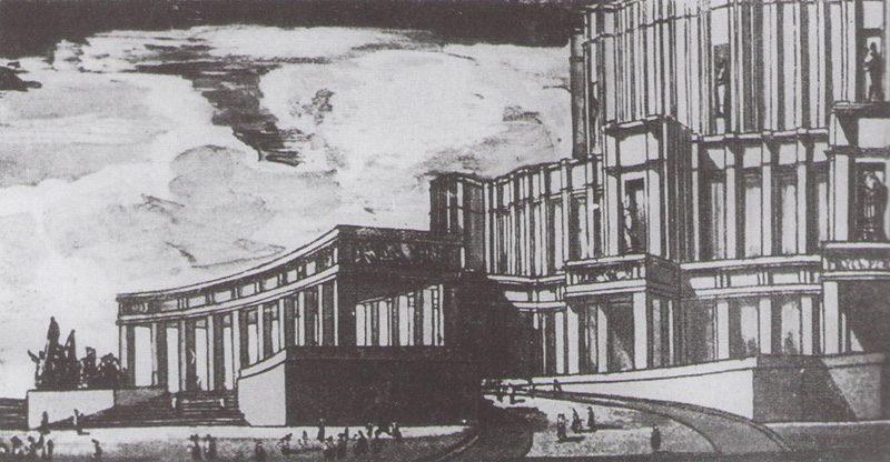 opera and ballet theatre perspective - <b>«Безродные и буржуазные»:</b> как еврейские архитекторы строили советские города и теряли из-за этого работу - Заборона