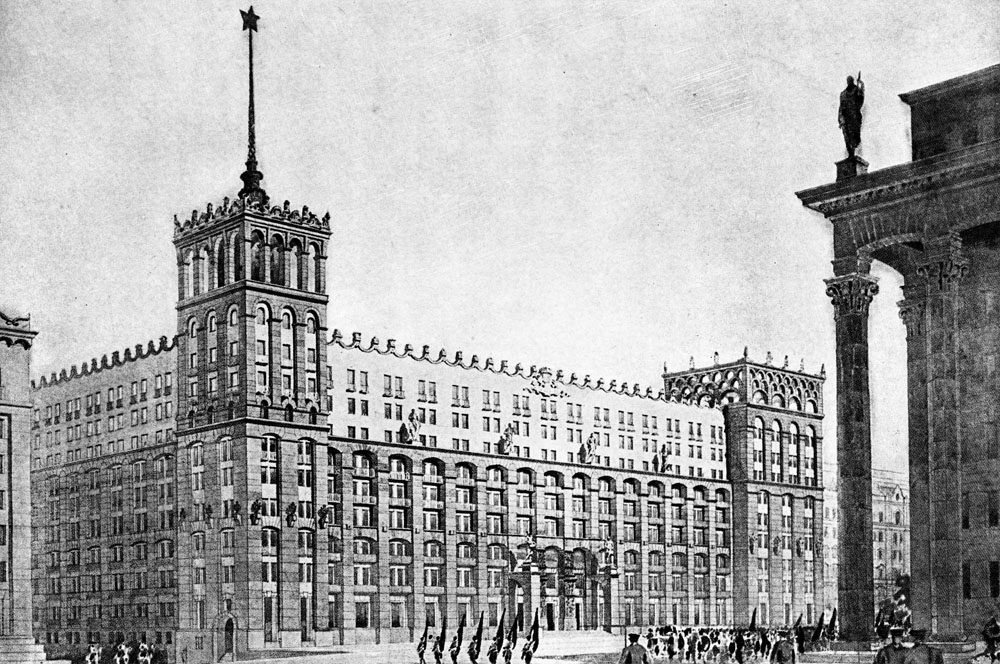 proekt gotelyu na 500 nomeriv u kievi  - <b>«Безродные и буржуазные»:</b> как еврейские архитекторы строили советские города и теряли из-за этого работу - Заборона