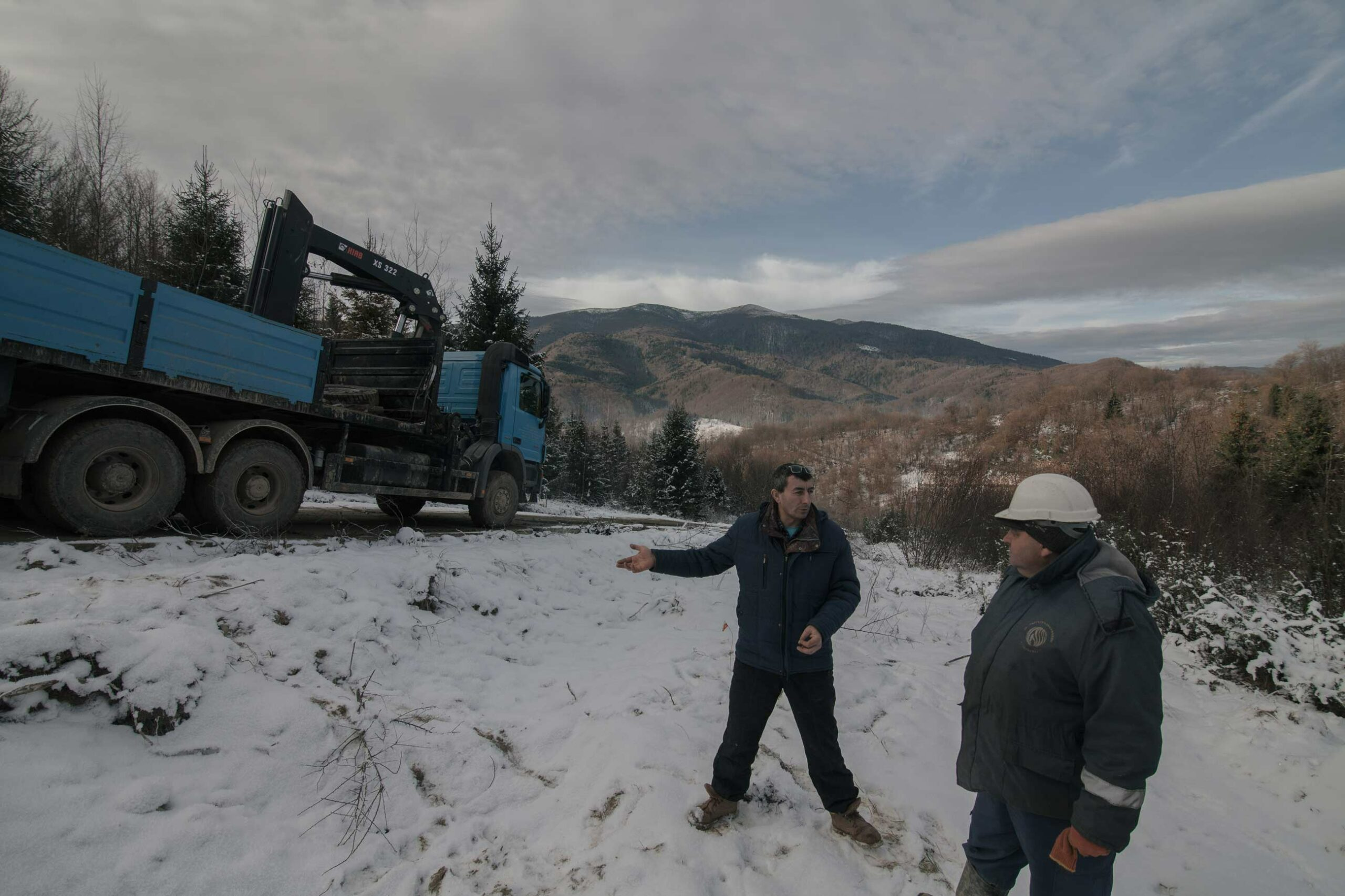 z bukovets 12 2600 web scaled - <b>Gas production began in a tourist village in Transcarpathia without permits.</b> Locals are protesting but to no avail. - Заборона
