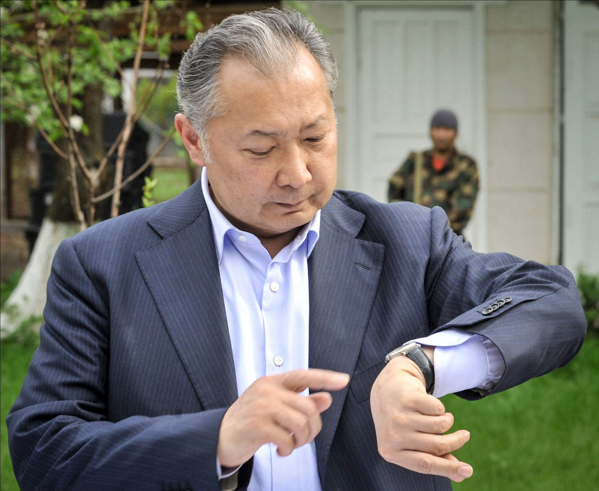 bakiyev - <b>Kyrgyzstan's New President,</b> His Criminal Past and How He Seized Parliament by Force: A Detailed Account - Заборона
