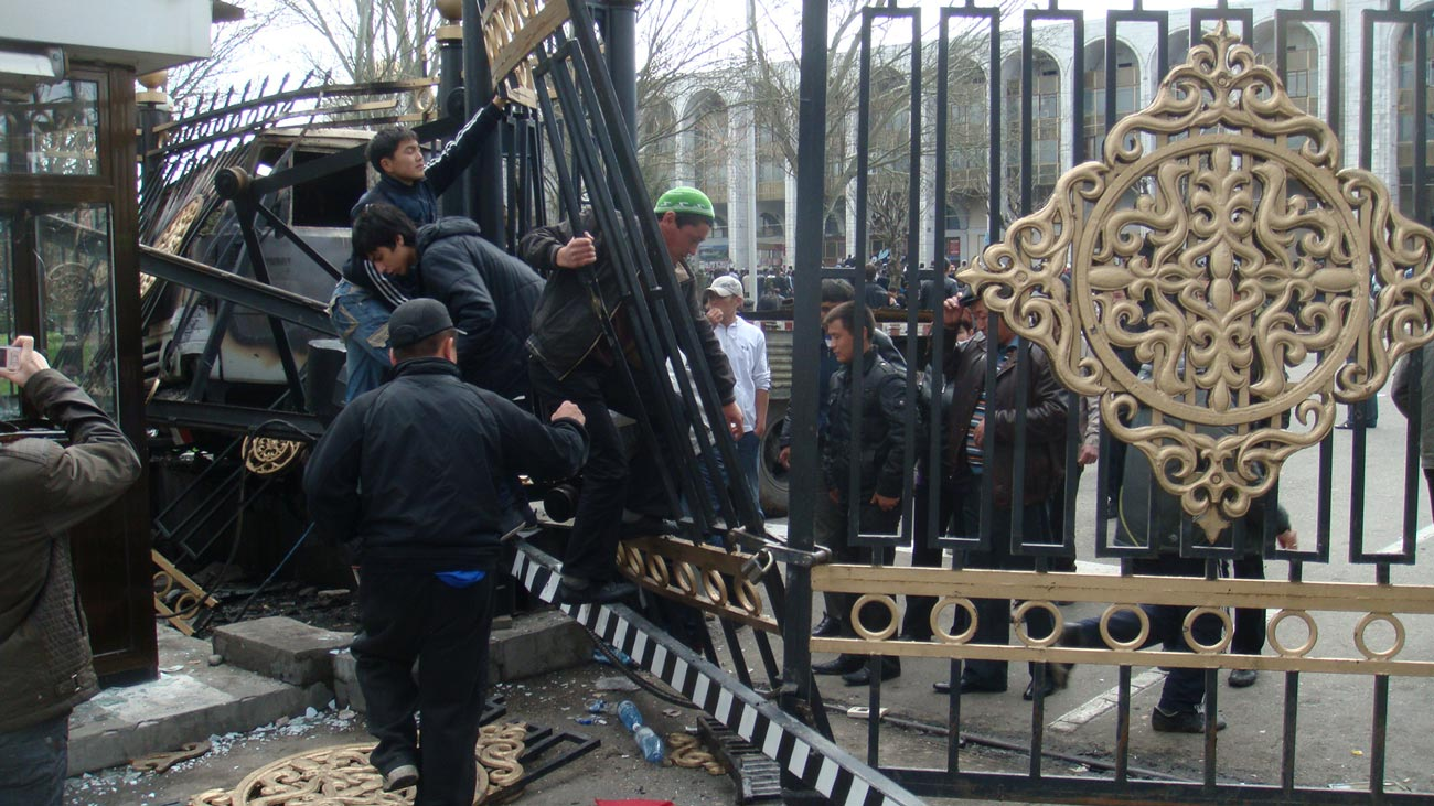 bishkek capitol revolution 2010 - <b>Kyrgyzstan's New President,</b> His Criminal Past and How He Seized Parliament by Force: A Detailed Account - Заборона