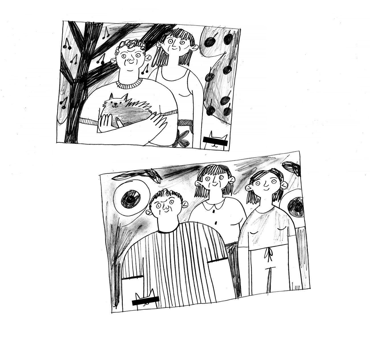 comics oliynik 03 2 - <b>Вам дісталася сумна дитина.</b> Комікс Жені Олійник про те, як депресія впливає на стосунки - Заборона