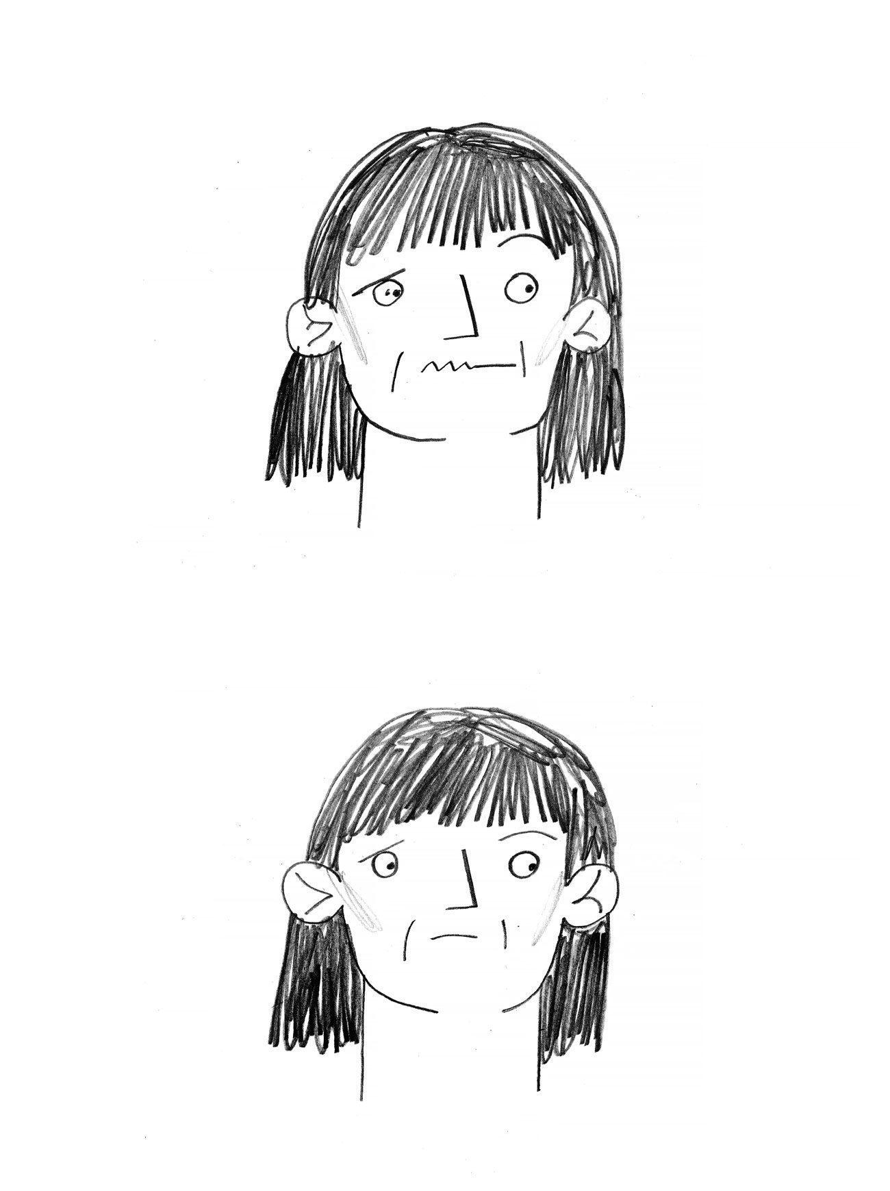 comics oliynik 30 - <b>Вам дісталася сумна дитина.</b> Комікс Жені Олійник про те, як депресія впливає на стосунки - Заборона