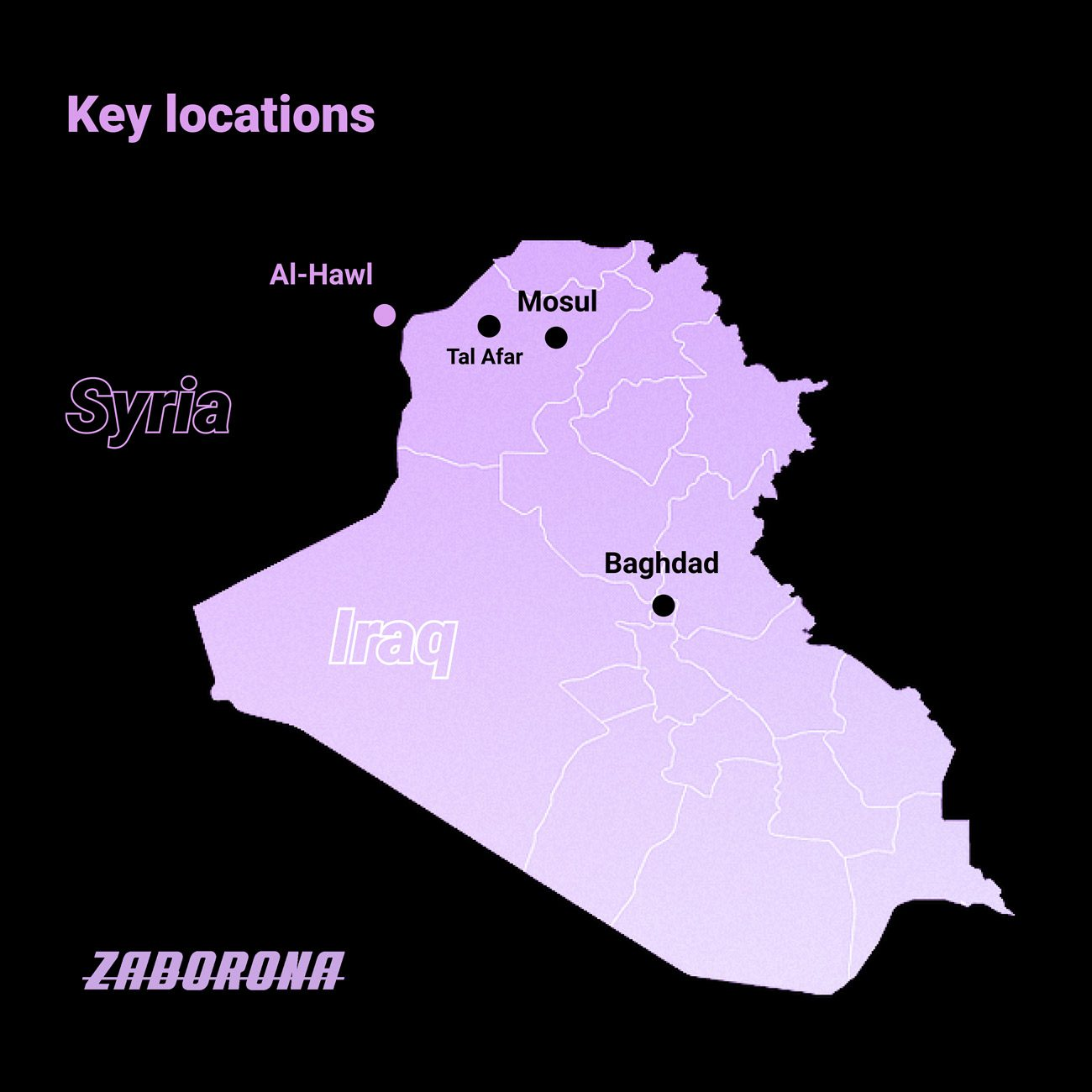 key locations - <b>Khadija and Her Boys.</b> What It's Like Searching for Family Lost in the Islamic State - Заборона