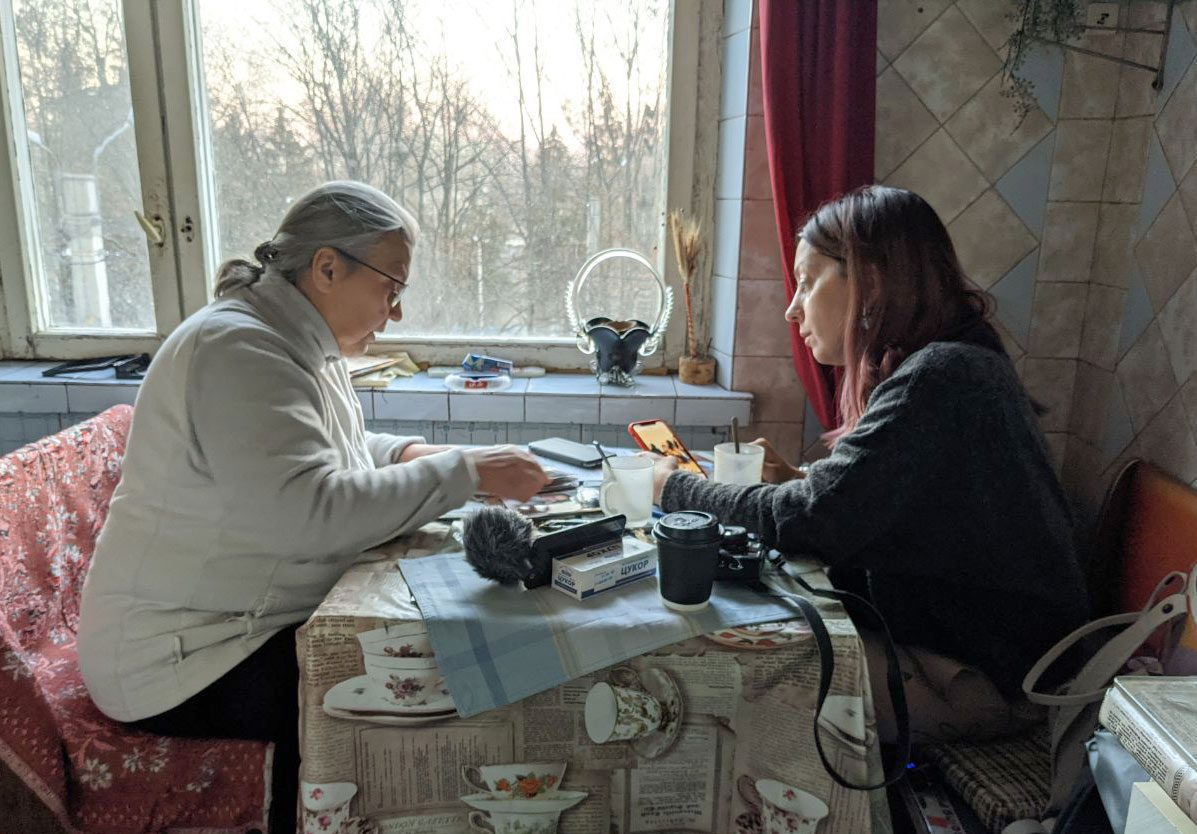 tania with katia - <b>Khadija and Her Boys.</b> What It's Like Searching for Family Lost in the Islamic State - Заборона