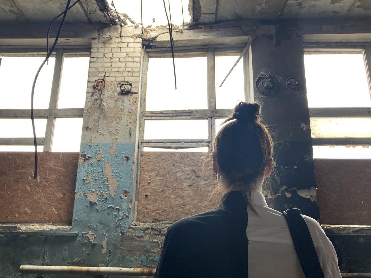 troicke 03 - <b>Город с собой: Троицкое.</b> Репортаж с прифронтового поселка - Заборона
