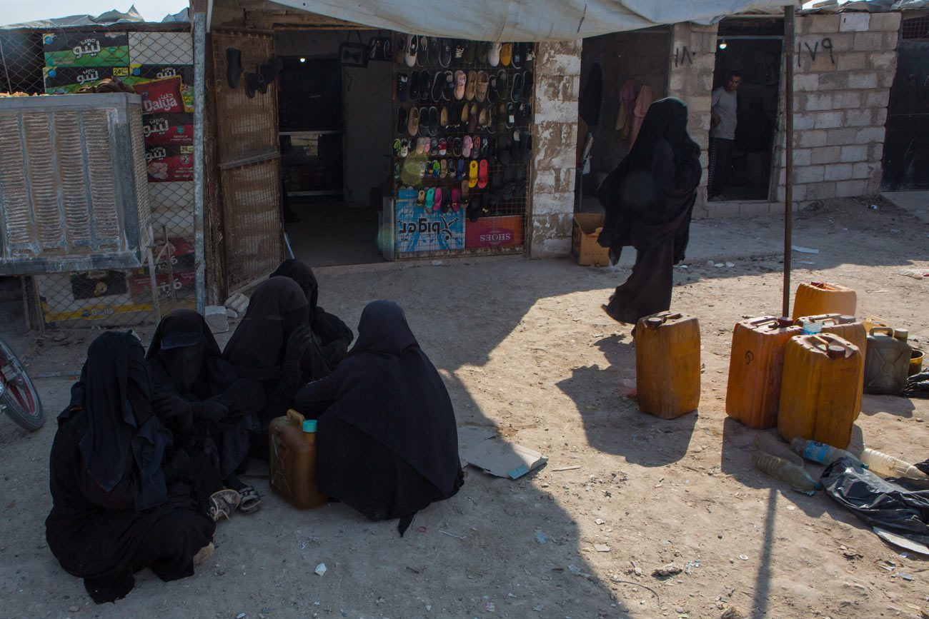 voa in al hol camp syria 16 october 2019 01 - <b>Khadija and Her Boys.</b> What It's Like Searching for Family Lost in the Islamic State - Заборона