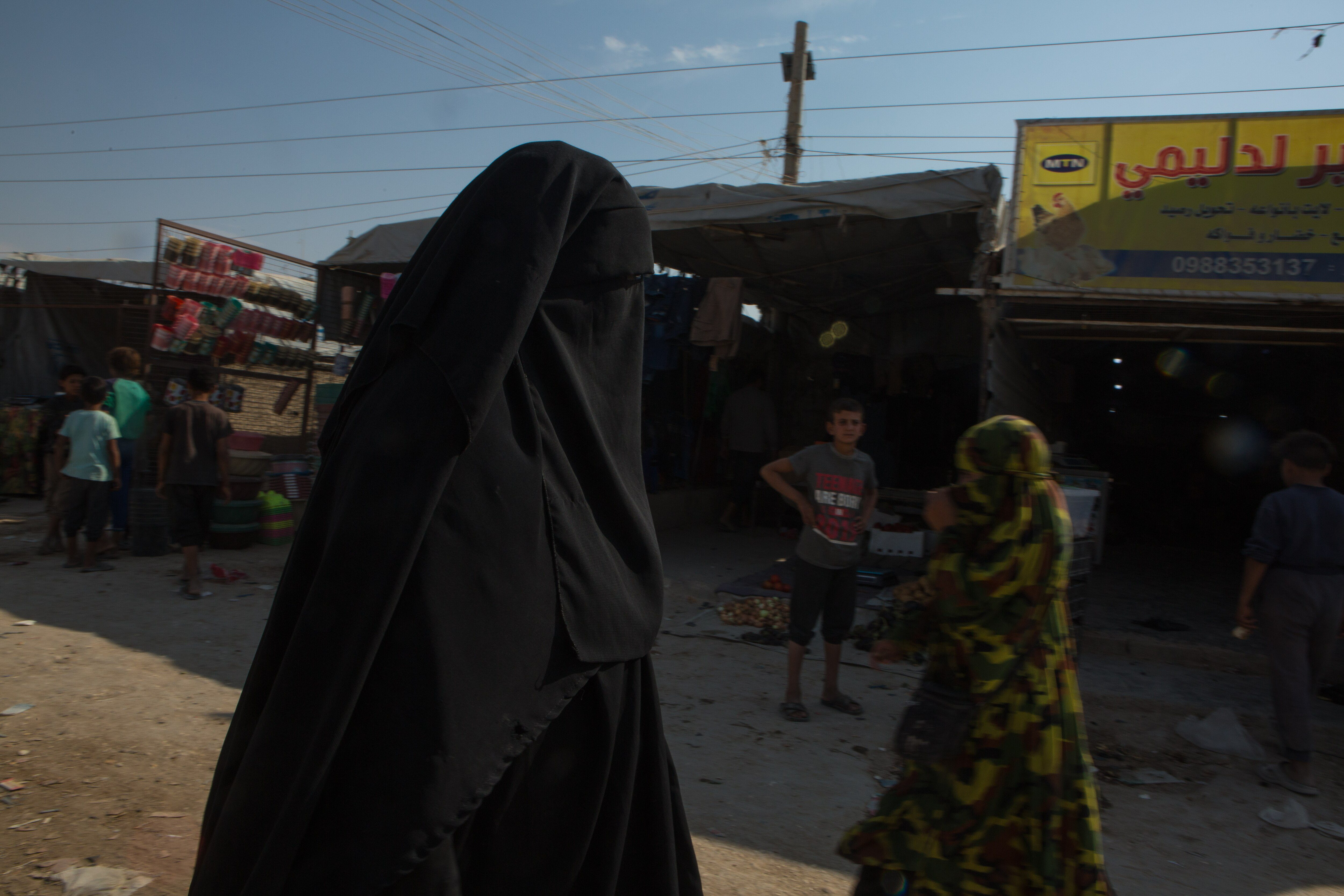 voa in al hol camp syria 16 october 2019 03 - <b>Khadija and Her Boys.</b> What It's Like Searching for Family Lost in the Islamic State - Заборона