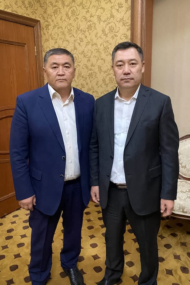 zhaparov tashiev - <b>Kyrgyzstan's New President,</b> His Criminal Past and How He Seized Parliament by Force: A Detailed Account - Заборона