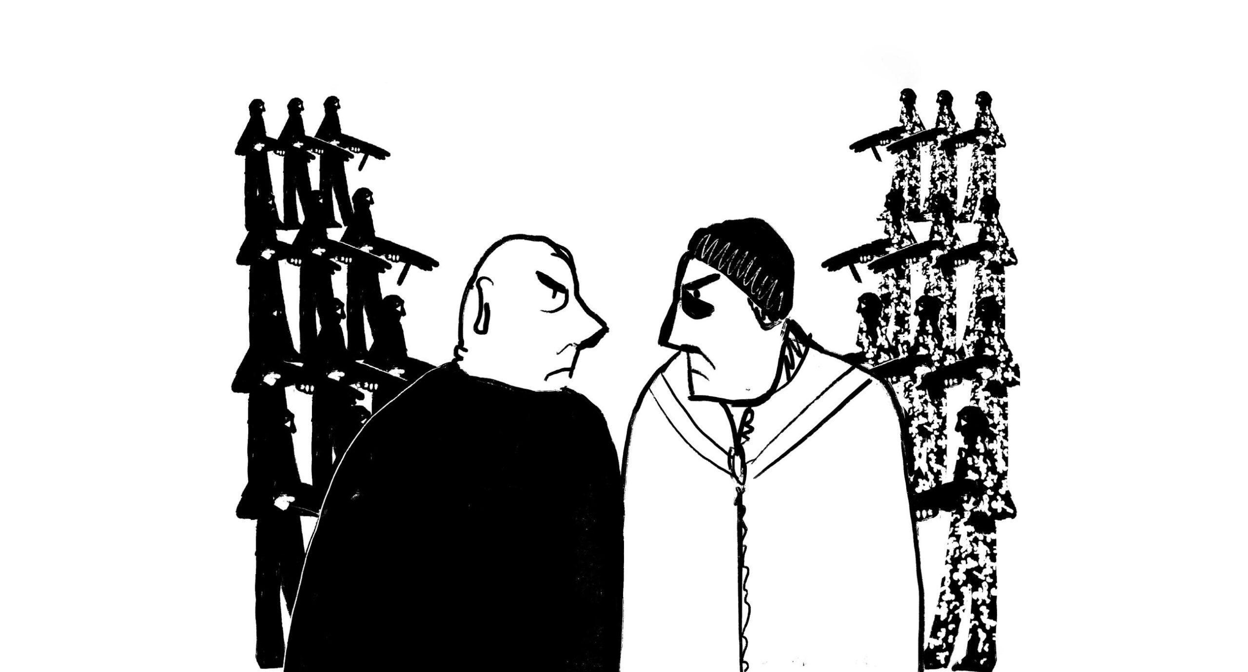 Драма на парковке. Комикс Тани Кремень про кумовство и коррупцию
