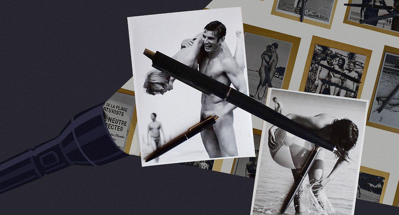 36 аматорських фотографій чорної ручки.