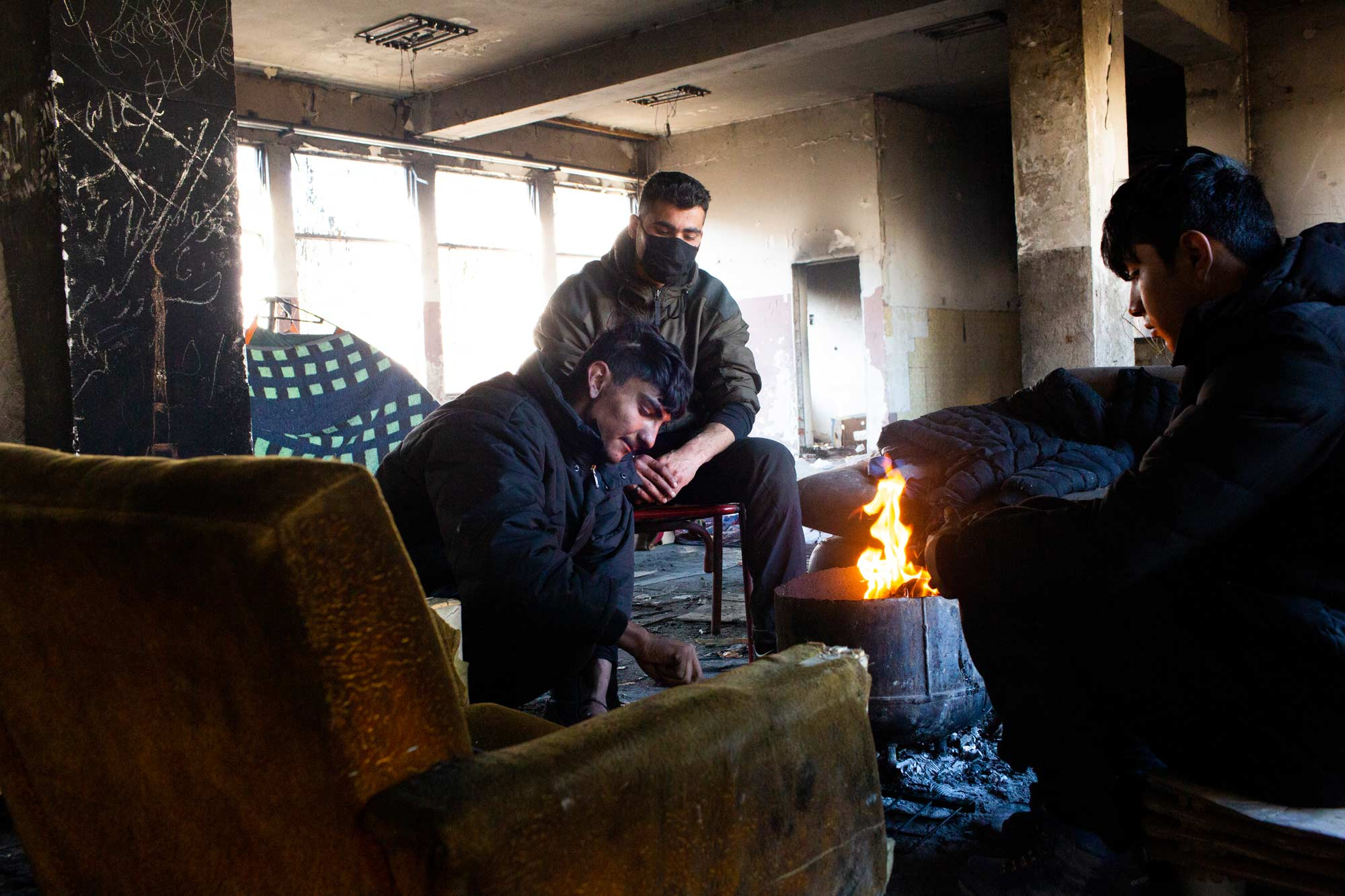 desperate refugees and migrants ahmed - <b>Крепость «Европа»:</b> как мигранты сталкиваются с полицейской жестокостью на Балканах - Заборона