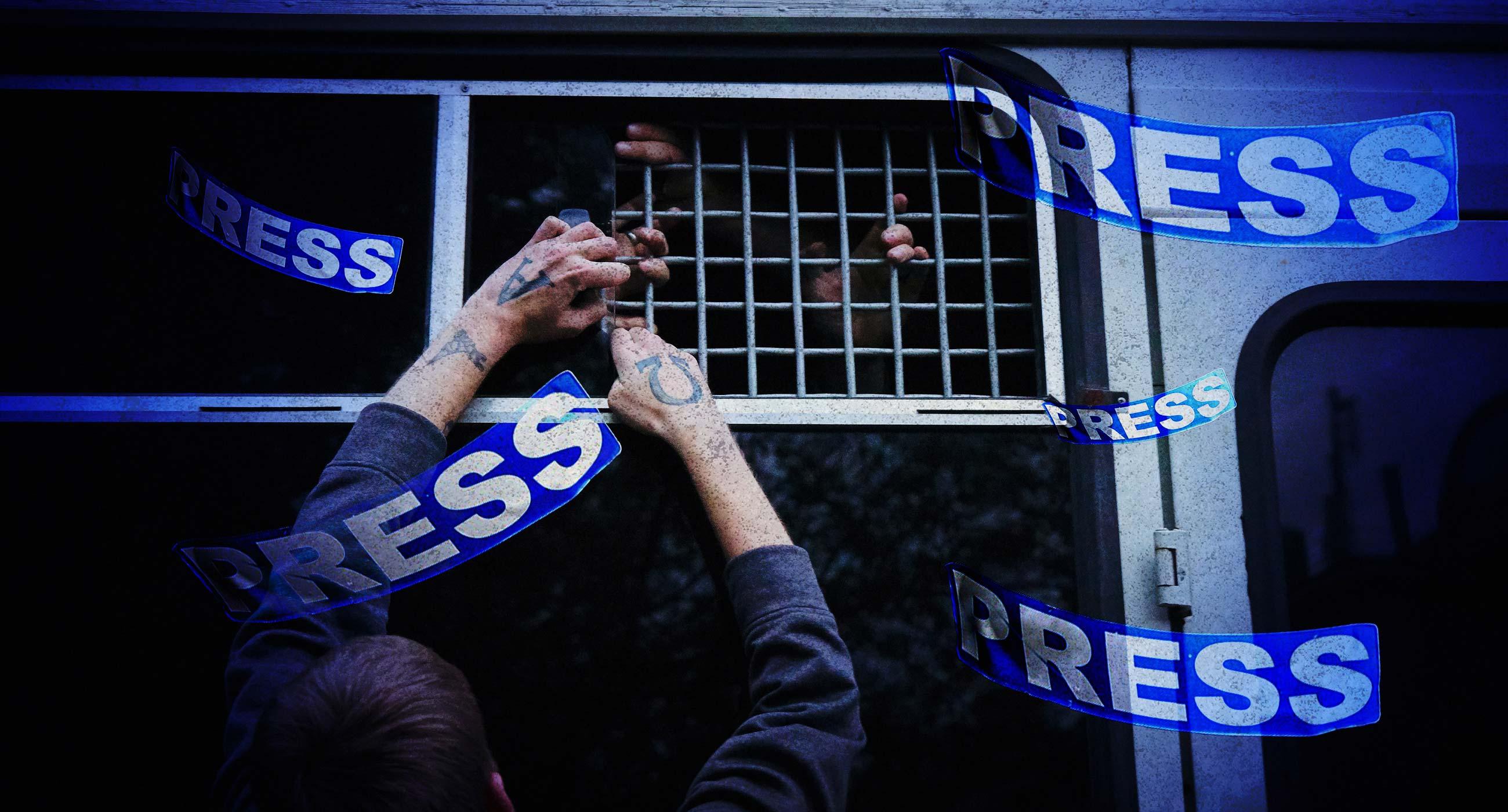 «Ваш стрім незаконний»: Заборона розповідає, як журналістів переслідують через їхню роботу