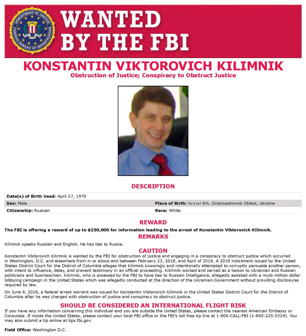 kilimnik derkach fbi - <b>Kilimnik and Derkach:</b> Defrauding Democracy Across Two Continents - Заборона