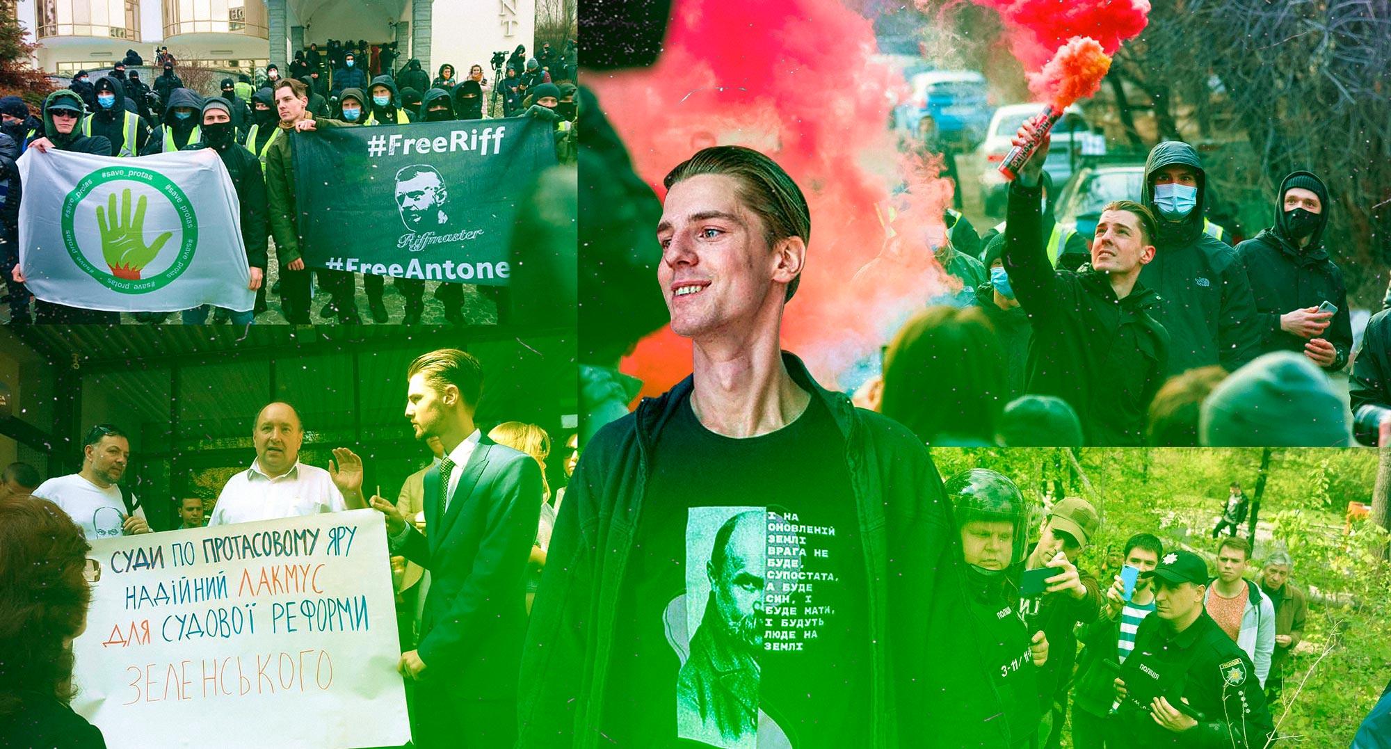 Активіст Роман Ратушний роками б'ється за київський Протасів Яр. Тепер його заарештували