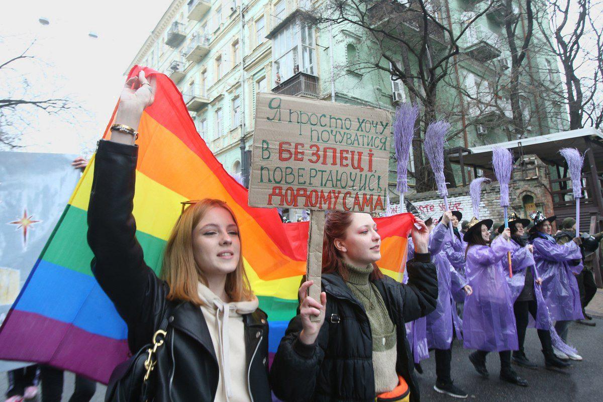 womens march 01 - <b>«От Елены Зеленской мы получили отказ».</b> Как готовят марш за права женщин — с упором на безопасность и без поддержки государства - Заборона