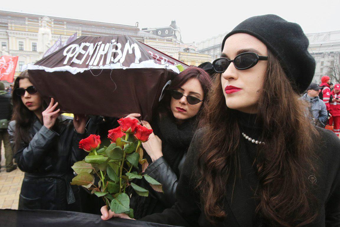 womens march 02 1 - <b>«От Елены Зеленской мы получили отказ».</b> Как готовят марш за права женщин — с упором на безопасность и без поддержки государства - Заборона