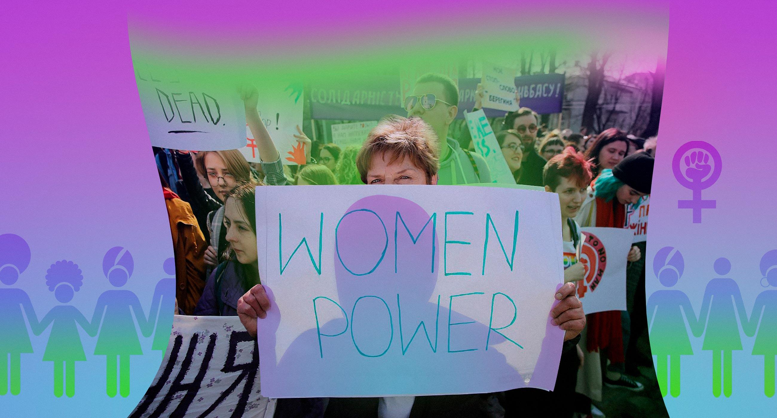 Как готовят марш за права женщин — с упором на безопасность и без поддержки государства