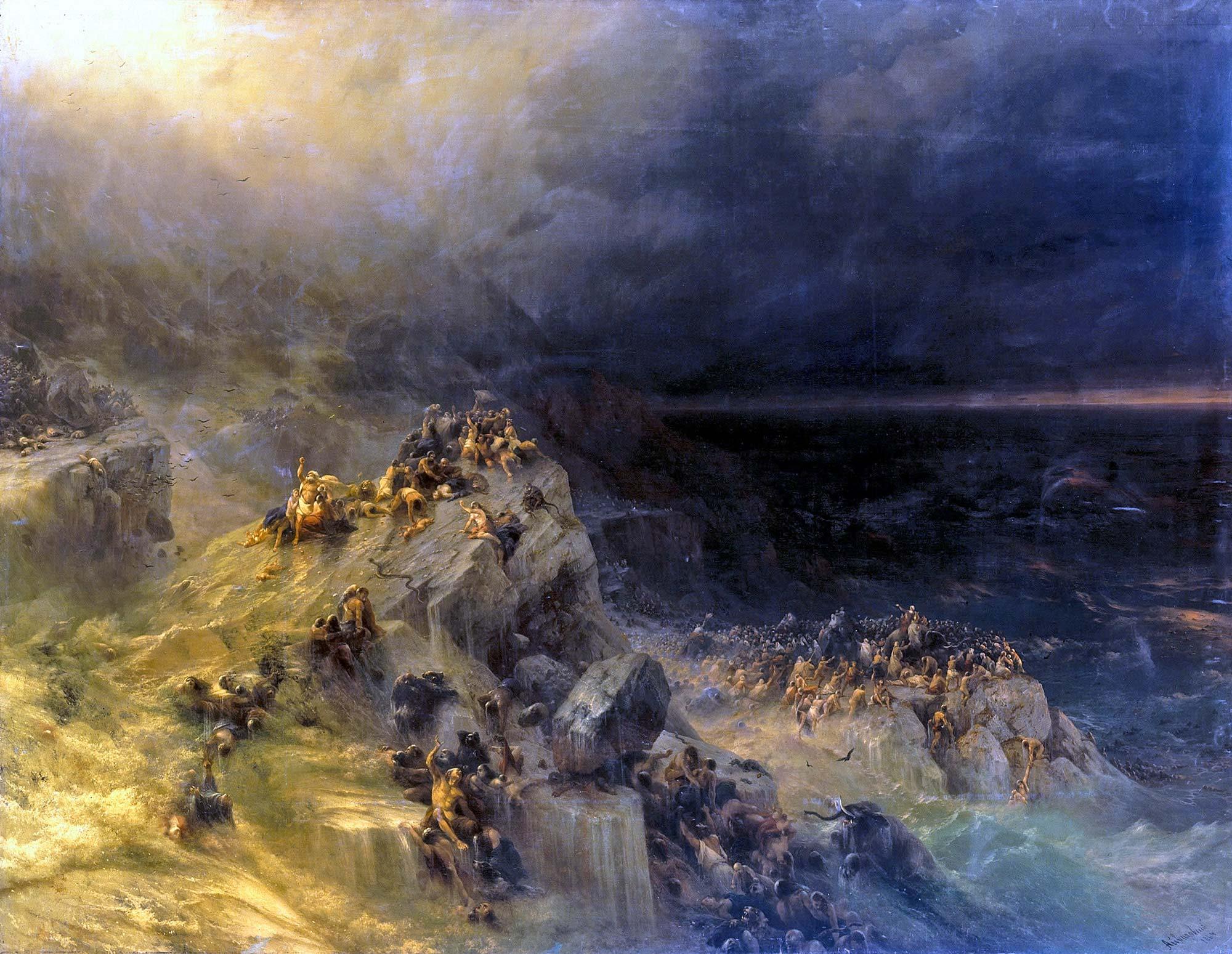 aivazovsky deluge - <b>Чому добро (не) перемагає зло.</b> Філософський експлейнер Заборони - Заборона