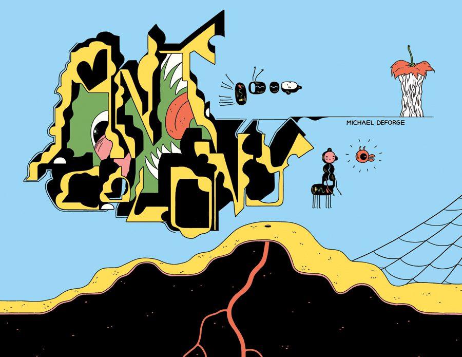 ant - <b>«Колония муравьев», Джо Сакко и шутки создательницы «Коня БоДжека»</b> – обзор комиксов от Катерины Сергацковой - Заборона
