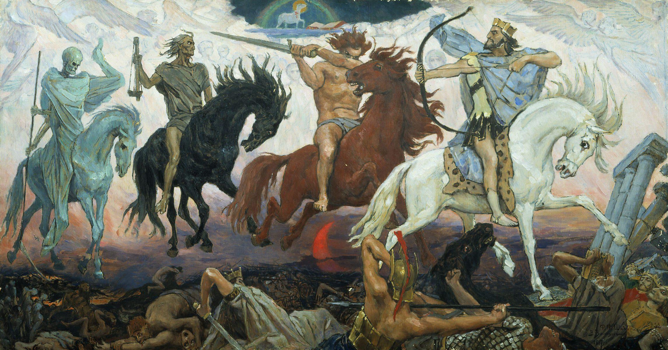 apocalypse vasnetsov - <b>Чому добро (не) перемагає зло.</b> Філософський експлейнер Заборони - Заборона