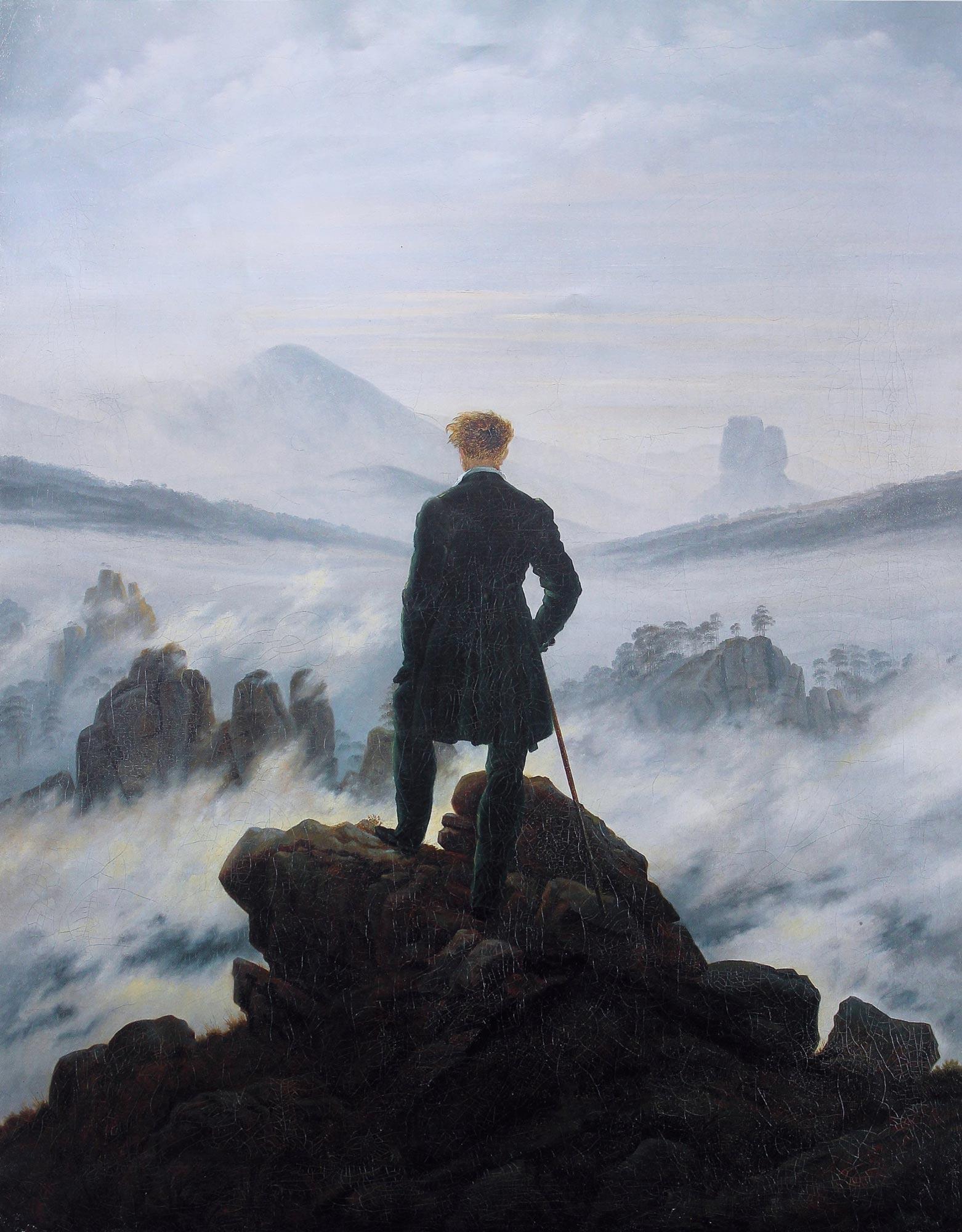 caspar david friedrich   wanderer above the sea of fog - <b>Жизнь соло.</b> Рассказываем, почему некоторые сознательно выбирают одиночество, а государству выгодны браки - Заборона