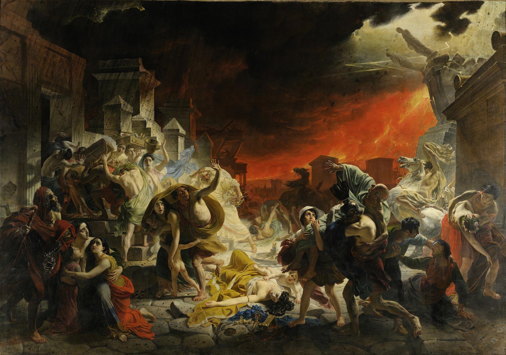 karl brullov the last day of pompeii - <b>Чому добро (не) перемагає зло.</b> Філософський експлейнер Заборони - Заборона