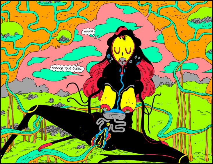 kolonia muraview 01 - <b>«Колония муравьев», Джо Сакко и шутки создательницы «Коня БоДжека»</b> – обзор комиксов от Катерины Сергацковой - Заборона