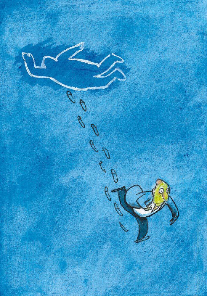 lyasch bulodelo a4 02 print - <b>«Колония муравьев», Джо Сакко и шутки создательницы «Коня БоДжека»</b> – обзор комиксов от Катерины Сергацковой - Заборона