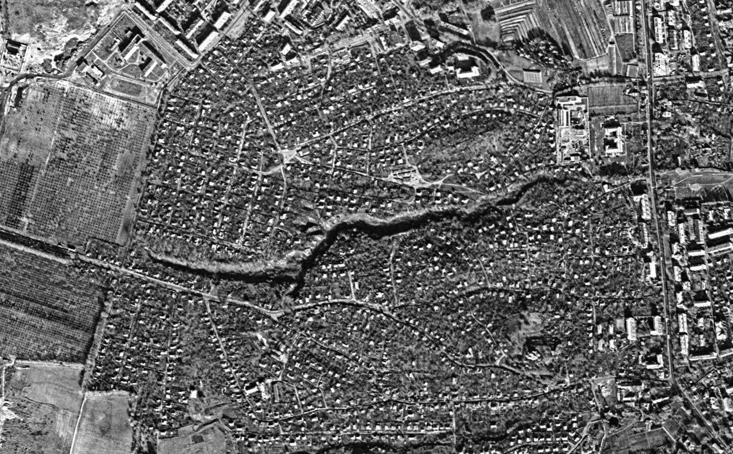 priorka 1972 - <b>Заради масового житла в Києві знищили десятки поселень.</b> Розповідаємо, як це було - Заборона