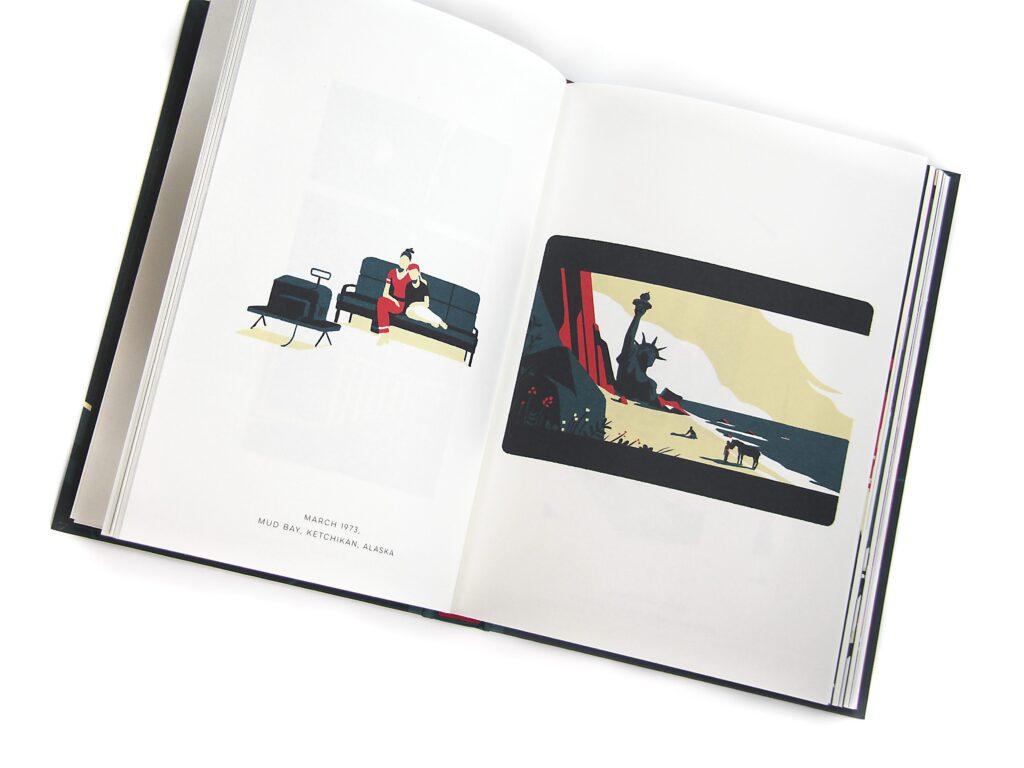 02 3 haugomat 1024x768 - <b>«Тентен у країні Сов'єтів», «Річка вночі» та інші подорожі в часі</b> — огляд коміксів Бориса Філоненка - Заборона