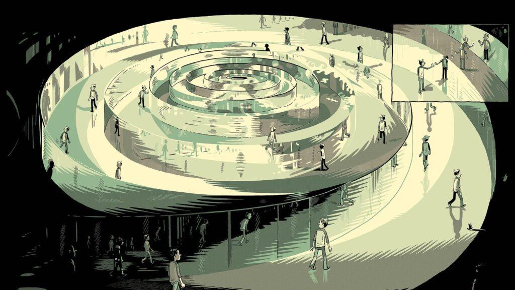 03 3 glenn 1024x576 - <b>«Тентен у країні Сов'єтів», «Річка вночі» та інші подорожі в часі</b> — огляд коміксів Бориса Філоненка - Заборона
