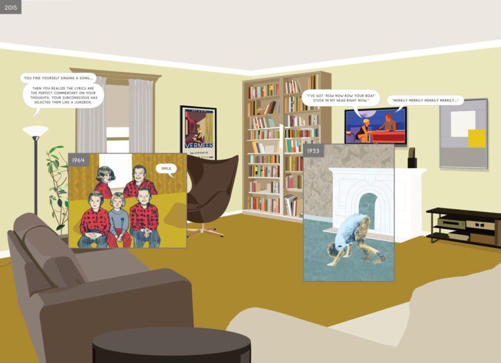 05 2 here 1024x742 - <b>«Тентен у країні Сов'єтів», «Річка вночі» та інші подорожі в часі</b> — огляд коміксів Бориса Філоненка - Заборона