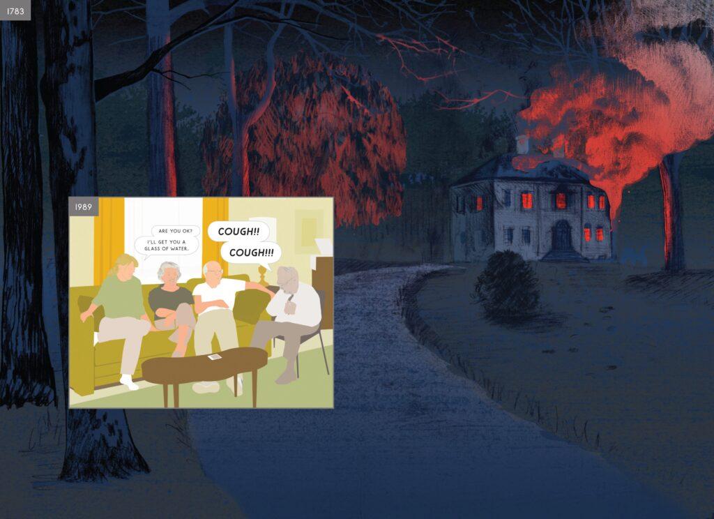 05 5 here 1024x744 - <b>«Тентен у країні Сов'єтів», «Річка вночі» та інші подорожі в часі</b> — огляд коміксів Бориса Філоненка - Заборона