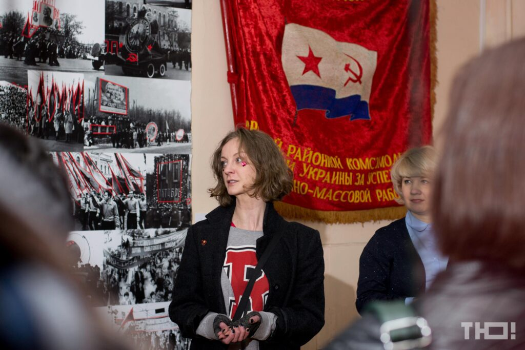 diana berg 01 1024x683 - <b>Tyu, Mariupol.</b> How Diana Berg made the city the main cultural center of the East. - Заборона