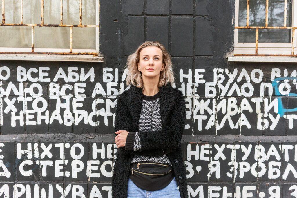 diana berg 05 1024x683 - <b>Tyu, Mariupol.</b> How Diana Berg made the city the main cultural center of the East. - Заборона