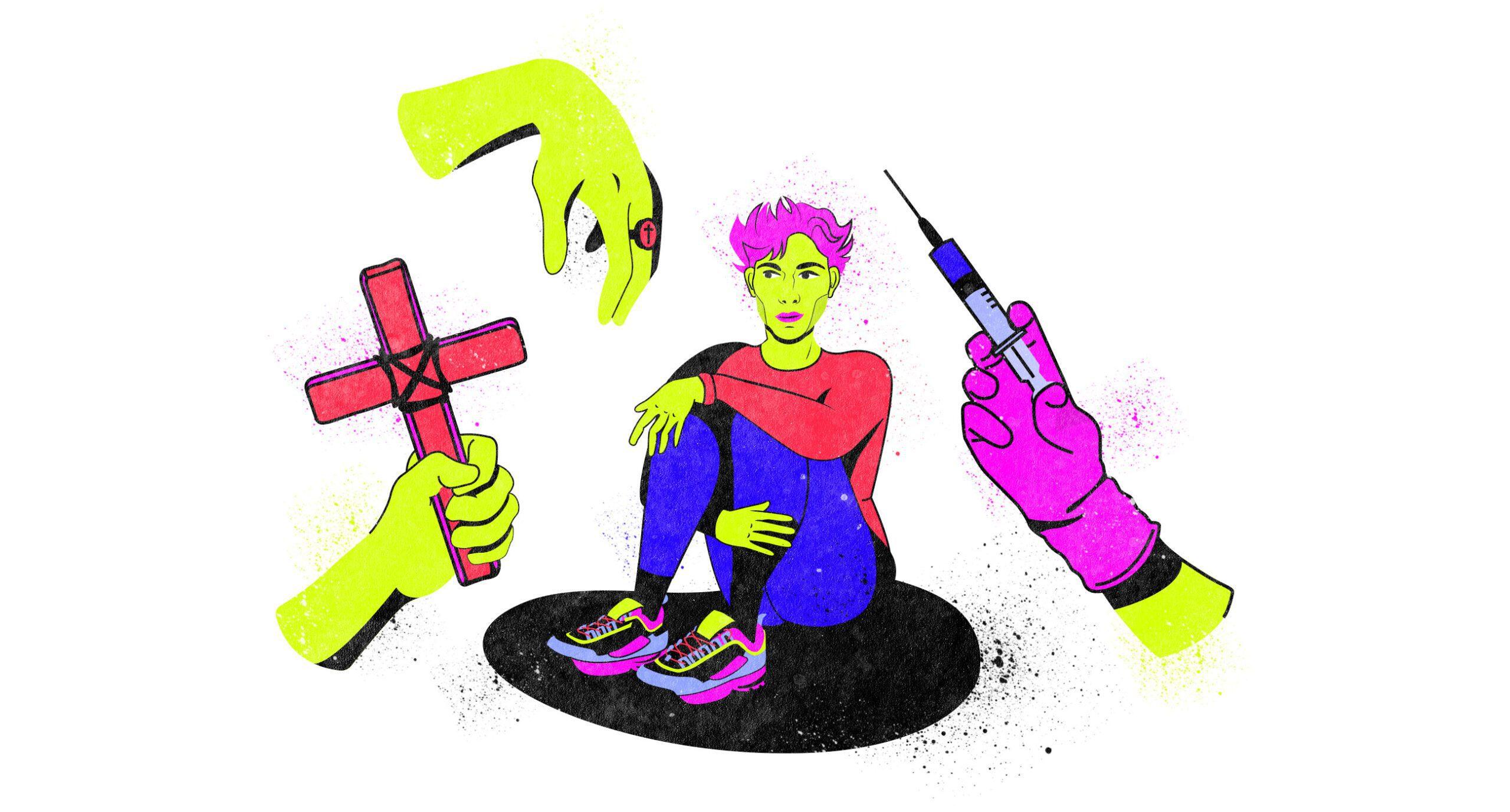 Як із геїв намагаються зробити «нормальних» в Україні. Розслідування Заборони