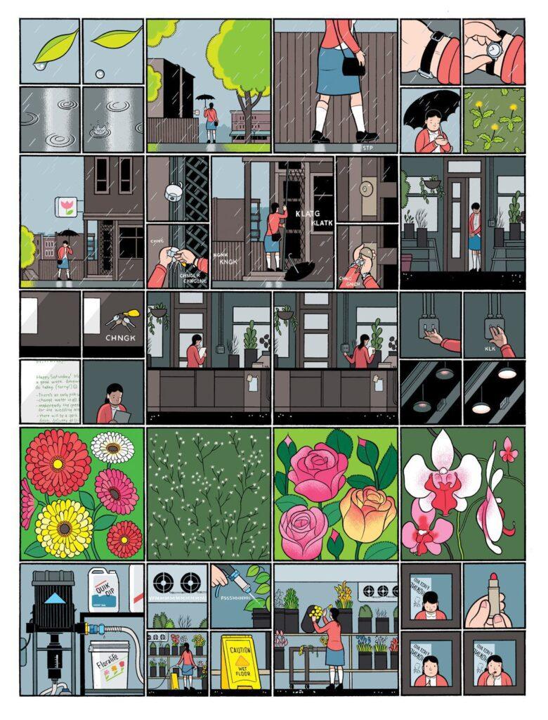 building stories 02 780x1024 - <b>«Персеполіс», «Лівобережна банда» та періодичне видання про вигадане місто</b> — огляд коміксів від учасників дискусії на «Книжковому арсеналі» - Заборона