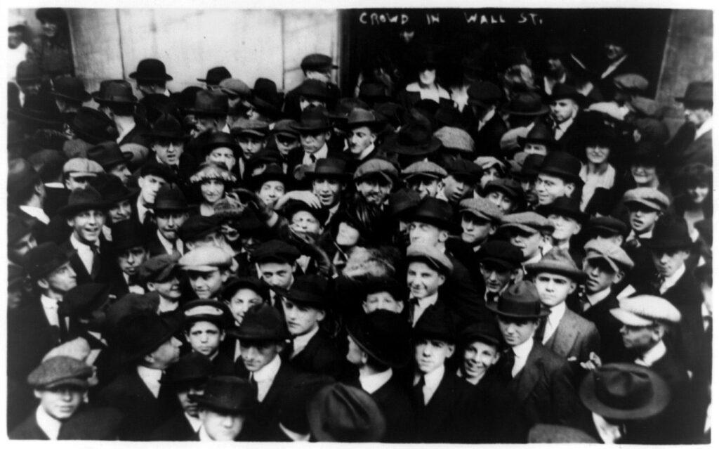 curb brokers in wall street new york city 1920 1024x639 - <b>Як швидко розбагатіти:</b> що таке інвестиції на фондових біржах, як це працює та які ризики? - Заборона