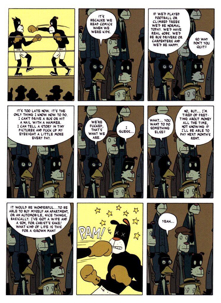 lbg 3 745x1024 - <b>«Персеполіс», «Лівобережна банда» та періодичне видання про вигадане місто</b> — огляд коміксів від учасників дискусії на «Книжковому арсеналі» - Заборона
