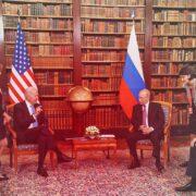Путін і Байден вперше зустрілися в Женеві. Як це було — ексклюзивний репортаж