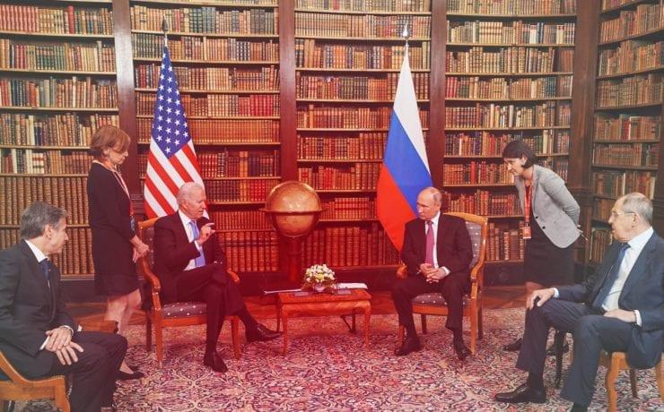 Путин и Байден впервые встретились в Женеве. Как это было — эксклюзивный репортаж