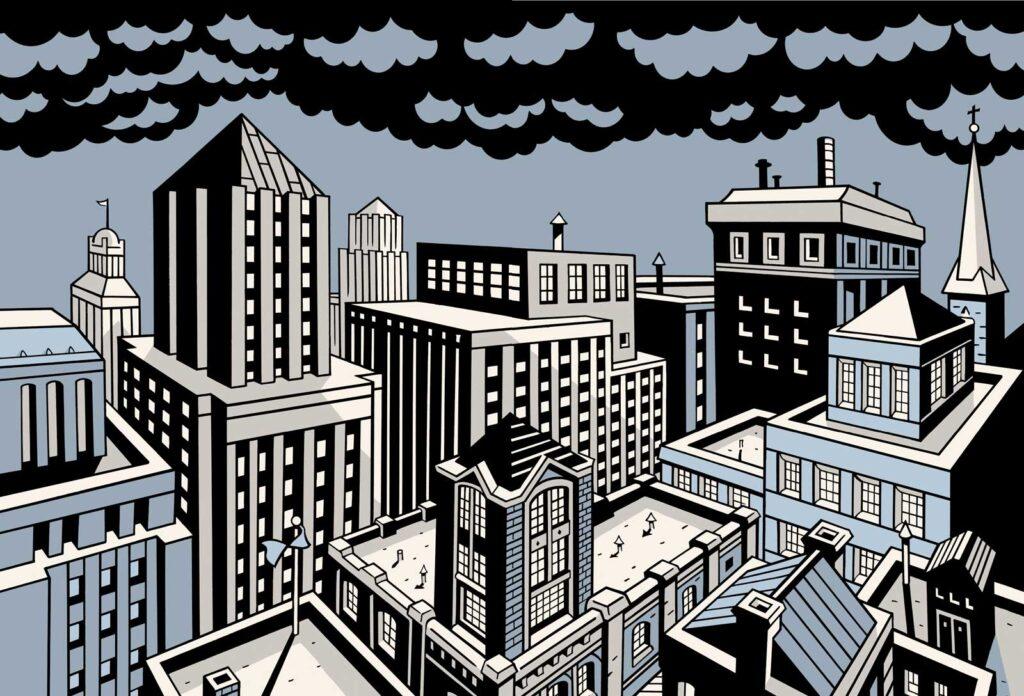 pv 02 1024x696 - <b>«Персеполіс», «Лівобережна банда» та періодичне видання про вигадане місто</b> — огляд коміксів від учасників дискусії на «Книжковому арсеналі» - Заборона