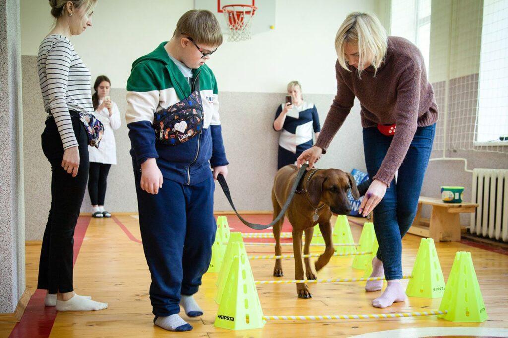 social cynology 1327 1024x682 - <b>Одно сердце на двоих.</b> Как собаки помогают людям с инвалидностью и без - Заборона